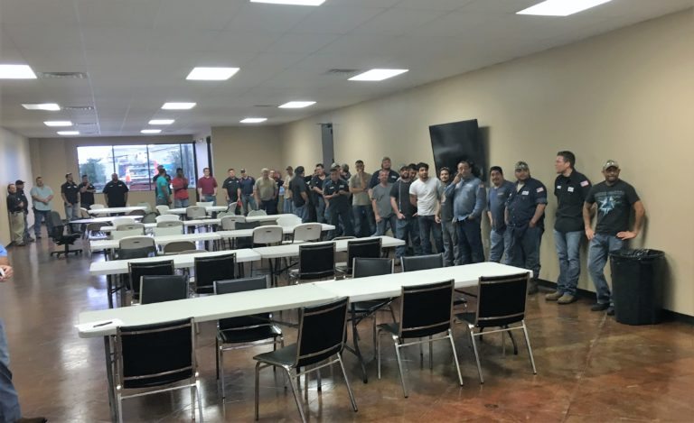 Our Manufacturing team at our safety celebration!